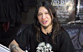 """imagen de Rob Cavestany de Death Angel: """"Extrañaré la música de Slayer"""""""