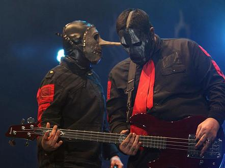 Musik Chris Fehn L Und Paul Gray Von Slipknot