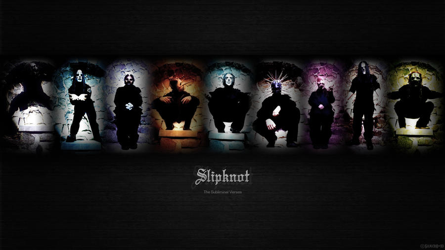 Slipknot The Subliminal Verses By Samcro 33 D4d8hk9 Fullview