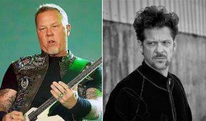 """imagen de El paso de Jason Newsted en Metallica """"desclasificado"""""""