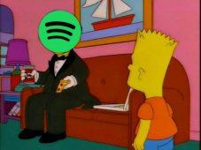 """imagen de Por que tan elegante SR. Spotify? """"Hoy puedes encontrar la música del Tool, en las plataformas digitales, chico"""