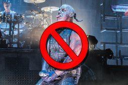 imagen de Facebook en picada contra Rammstein