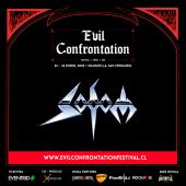 imagen de Primer Headliner confirmado para Evil Confrontation Festival: SODOM
