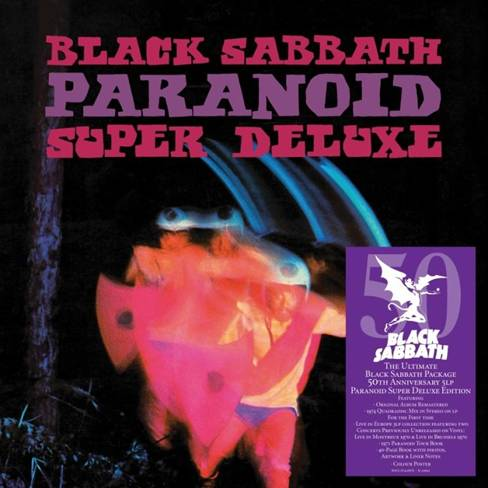 Black Sabbath arte de Paranoid